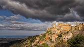 Village of Speloncato in the Balagne region of Corsica — Stock Photo
