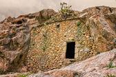 Troglodyte house near Ostriconi in Corsica — Stock Photo