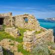 Ancient ruined building on the coast of Corsica — Stock Photo