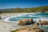 Ostriconi Beach in north Corsica — Stock Photo