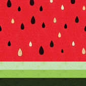 Seamless watermelon pattern — 图库矢量图片