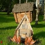 The hut on chicken legs — Stock Photo #51251347