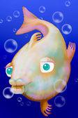 Velká ryba — Stock fotografie