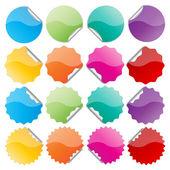 красочные уплотнения — Cтоковый вектор