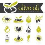 ������, ������: Olive oil icon set