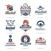 Baseball icon set - 3 — Stock Vector