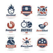 Baseball icon set - 2 — Vector de stock