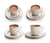 Turkish coffee set with clipping path — Stock Photo