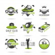Golf icon set — Stock Vector #49391037