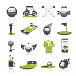 Golf icon set — Stock Vector #49391041
