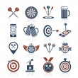Darts icon set - 3 — Stock Vector #50175931