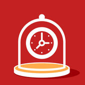 Protection of  Clock.  — Vettoriale Stock