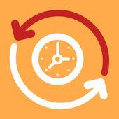 Update  Clock.  — Stock Vector