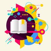 Buch — Stockvektor