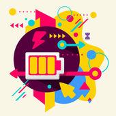 Battery — Stock Vector