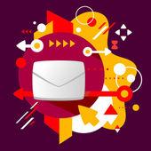 Umschlag — Stockvektor