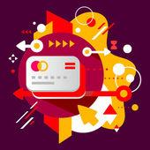 Banka kartları — Stok Vektör