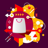 Shopping bag — Stok Vektör