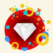 Diamante — Vettoriale Stock
