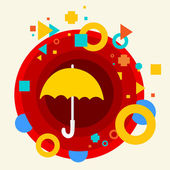 Umbrella — Stock Vector