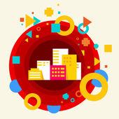 City buildings — Stock Vector