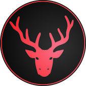 Red reindeer — Stock Vector