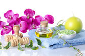 Spa and massage concept — Stock Photo