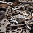 A set of old keys — Stock Photo