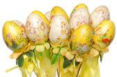 Bazı boyalı paskalya yumurtaları — Stok fotoğraf