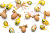 Various easter eggs — Stock Photo