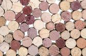 Background of wine corks — Stock Photo