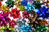 Multicolored bows — Stock Photo