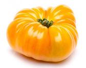 Yellow beefsteak tomato — Stok fotoğraf