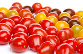 Different varieties of cherry tomatoes — Stock Photo