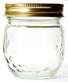Empty Jelly Jar — Stock Photo