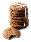 Ginger Snaps Tied with Twine — Stock Photo