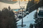Skigebied — Stockfoto