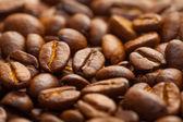 コーヒー豆の背景 — ストック写真
