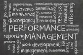 Performance management — Stock Photo