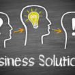 business solutions — Stock Photo