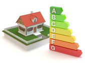 House - energy efficiency — Stock Photo
