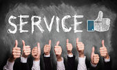 Top Service — Stock Photo