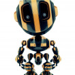 Cute little toy robot like bee — Stock Photo #46347333