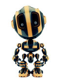 Cute little toy robot like bee — Stock Photo