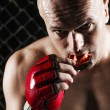 Mixed Martial Arts Fighter — Stock Photo #41254285