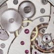 Stock Photo: Clockwork of watch. close up
