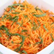 Salad from carrot — Stock Photo #40228243