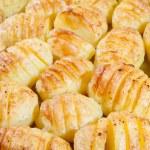 Delicious baked potatoes — Stock Photo