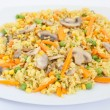 Fried Rice with Vegetables — Stock Photo #41106065