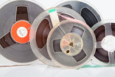 Audio magetic reel tape — Stock Photo